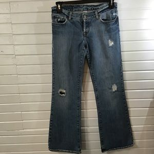Lucky jeans size 8 ..Fit Sweat Dream .. Button Fly